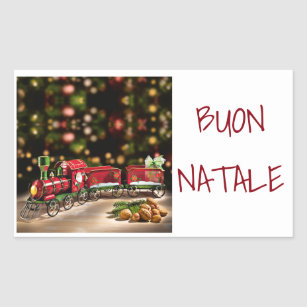 sticker to say merry christmas italian style - How To Say Merry Christmas In Italian