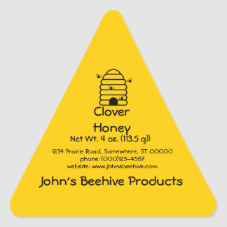 Sticker (Tri)- Honey Business