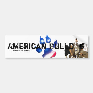 Sticker Unikat Nelly American Bulldog