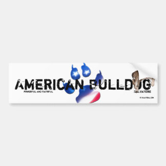 Sticker Unikat Salvatore American Bulldog