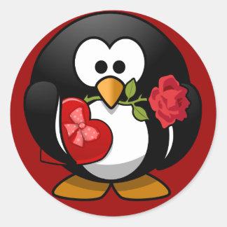Sticker - Valentine Penguin