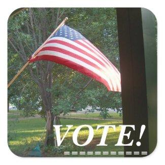 Sticker / VOTE!