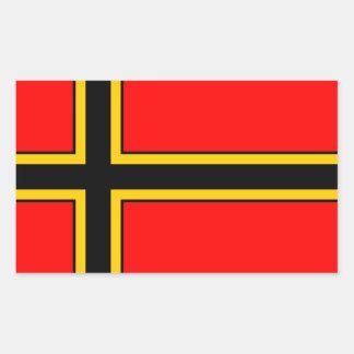 Sticker we MER flag