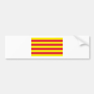 "Sticker with Catalan Flag ""Serenya """