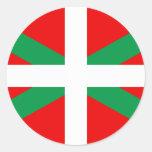 "Sticker with Flag Basque ""Ikkurina """