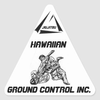 Sticker with Jiujitsu/Ground Control Logo