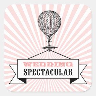 Sticker with Wedding Spectacular