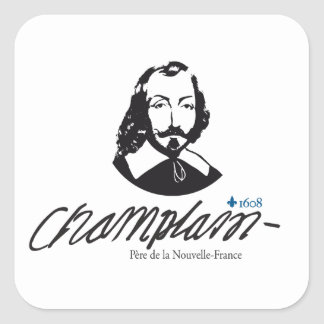 Sticker x20 Champlain father News-France