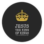 [Crown]  jesus  the king  of kings   [Crown]  jesus  the king  of kings  Stickers