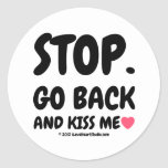 stop. go back and kiss me [Love heart]  stop. go back and kiss me [Love heart]  Stickers