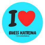 i [Love heart]  bhess katrina i [Love heart]  bhess katrina Stickers