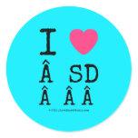 i [Love heart]   sd    i [Love heart]   sd    Stickers