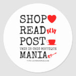 shop [Love heart]  read [Feet]  post [Cup]  this is chic boutique mania [Electric guitar]   shop [Love heart]  read [Feet]  post [Cup]  this is chic boutique mania [Electric guitar]   Stickers