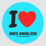 i [Love heart]  bhess angelica! i [Love heart]  bhess angelica! Stickers