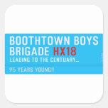 boothtown boys  brigade  Stickers