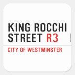 king Rocchi Street  Stickers