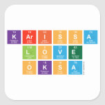 Karissa Love Oksa  Stickers
