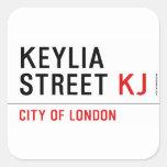Keylia Street  Stickers