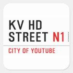 KV HD Street  Stickers