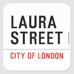 Laura Street  Stickers