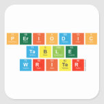 Periodic Table Writer  Stickers