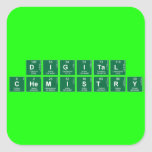 Digital Chemistry  Stickers