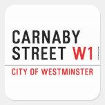 carnaby street  Stickers