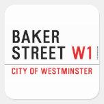 baker street  Stickers
