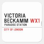Victoria  Beckamm  Stickers
