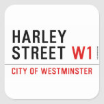 HARLEY STREET  Stickers