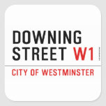 downing street  Stickers