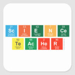 Science Teacher  Stickers