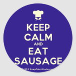 [Chef hat] keep calm and eat sausage  Stickers