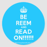 [Crown] be reem and read on!!!!!!  Stickers