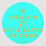 [Cupcake] keepcalm and eat little baby's ice cream  Stickers