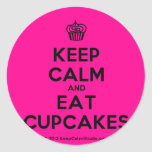 [Cupcake] keep calm and eat cupcakes  Stickers