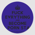 [Crown] fuck evrything and become a porn star  Stickers