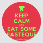 [Chef hat] keep calm and eat some pasteque  Stickers