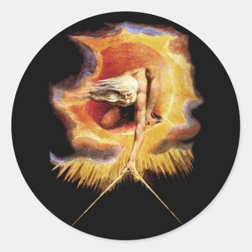 Stickers: Ancient of Days - William Blake