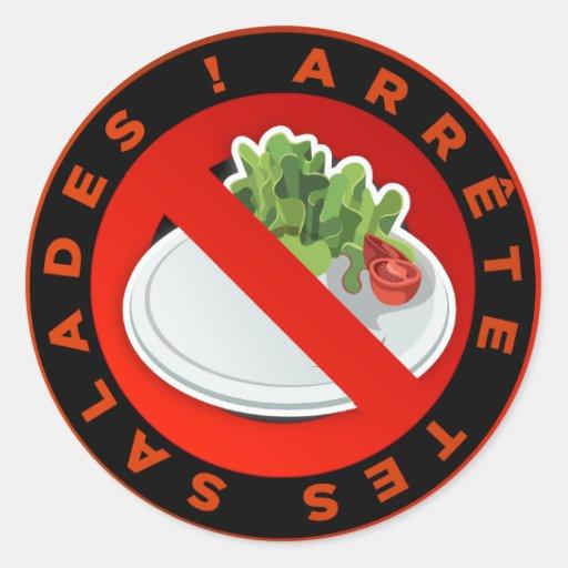 "Stickers ""Arrète your Salads """