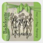 Stickers - Bachelorette Party Girls - Peridot