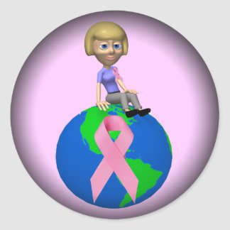 Stickers - Battle Breast Cancer Together