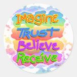 Stickers - Believe Pop Art