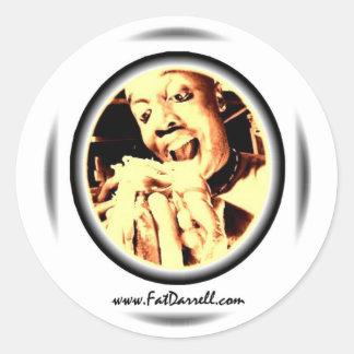 Stickers-Big Bite logo Classic Round Sticker
