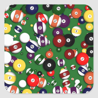 Stickers - Billiards