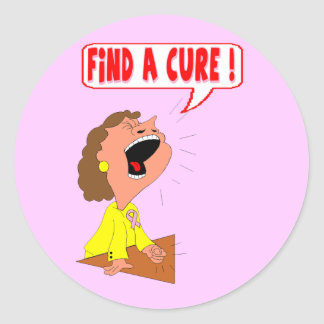 Stickers - Breast Cancer Cure