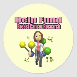 Stickers - Breast Cancer Research