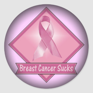 Stickers - Breast Cancer Sucks