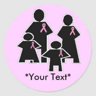 Stickers - Breast Cancer Support