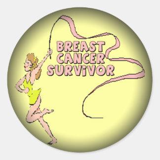 Stickers - Breast Cancer Survivor